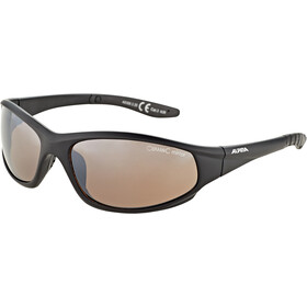 Alpina Wylder Okulary, black matt/platinum mirror